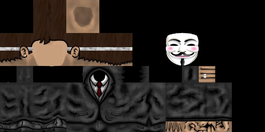скачать скин анонимуса для майнкрафт